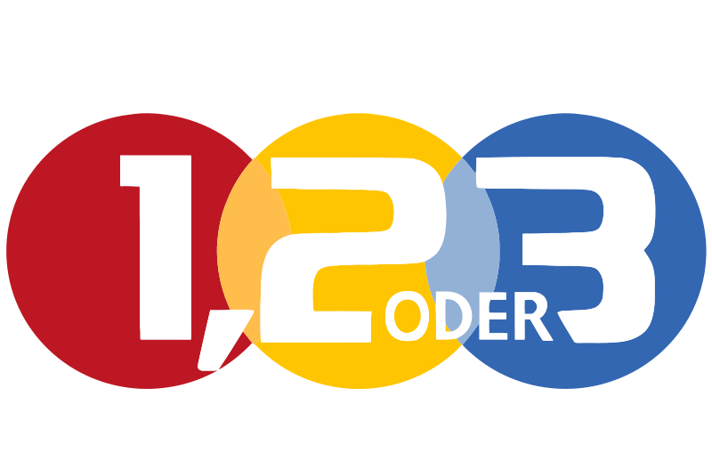 1 2 oder3 de: