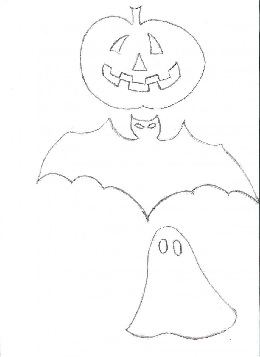halloween motive zum ausschneiden  ausmalbilder und vorlagen