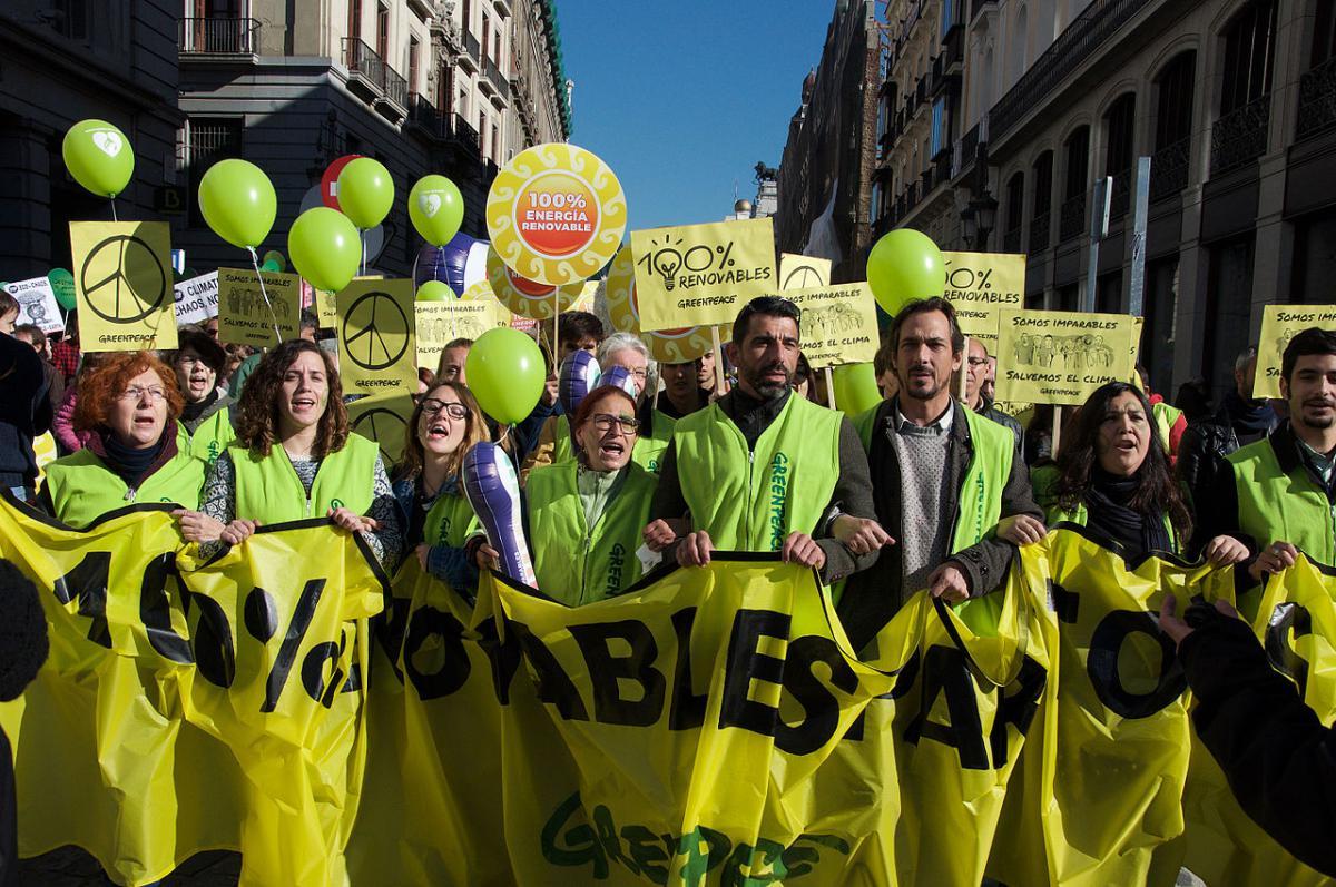 Greenpeace-Aktivisten © OsvaldoGago, wikimedia, CC BY-SA 3.0