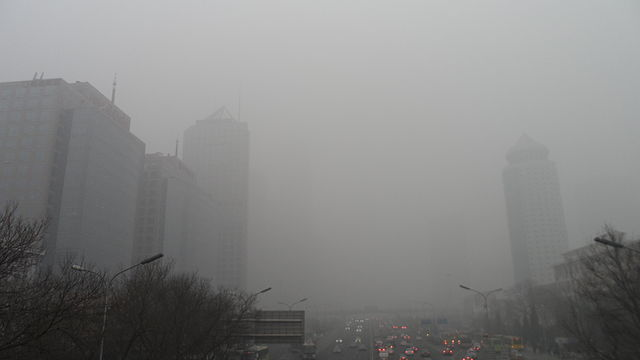 Smog in Peking, © 螺钉 Wikimedia CC BY-SA 3.0