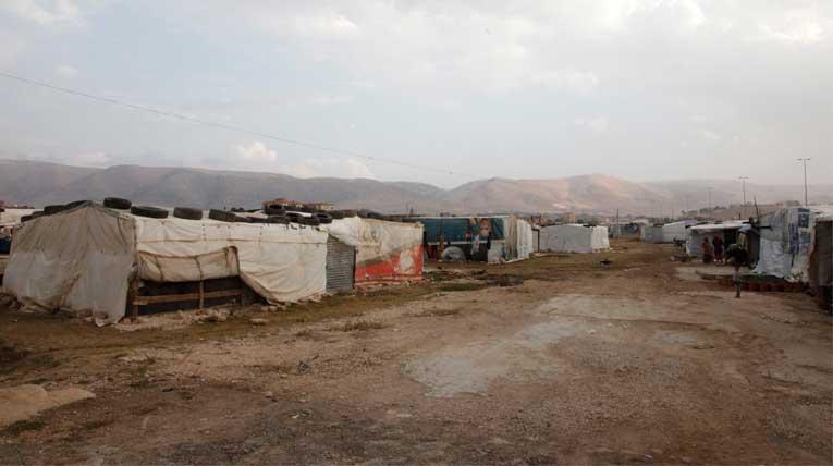 Flüchtlingslager im Libanon © Russell Watkins/Department for International Development, wikimedia, CC BY 2.0