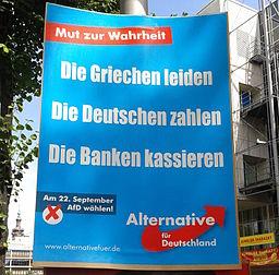 Wahlplakat der AfD, © Graf Foto, Wikimedia, CC BY-SA 3.0