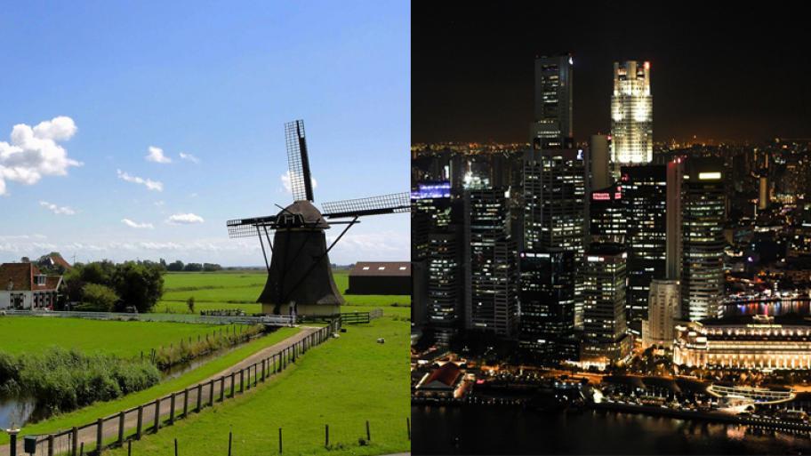 Land Oder Stadt