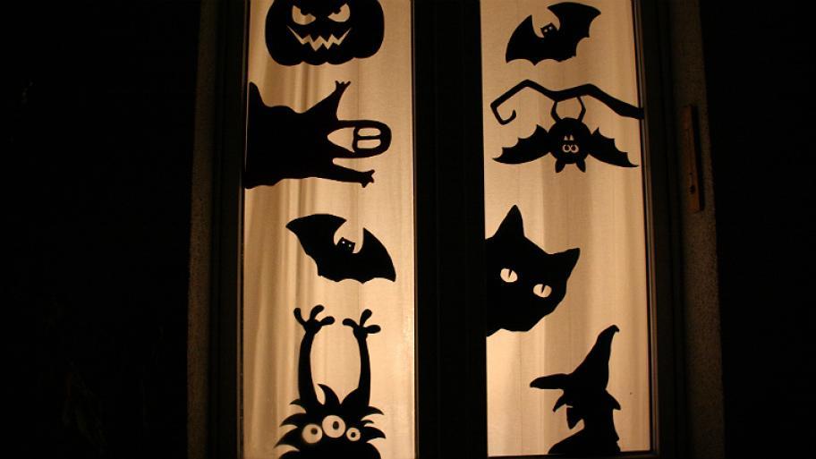 Bereichs bersicht kindersache - Halloween fenster projektion ...