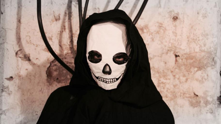 Totenkopf Maske Selbst Basteln Kindersache