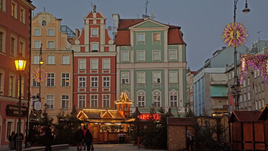 Weihnachtsoblaten Polen